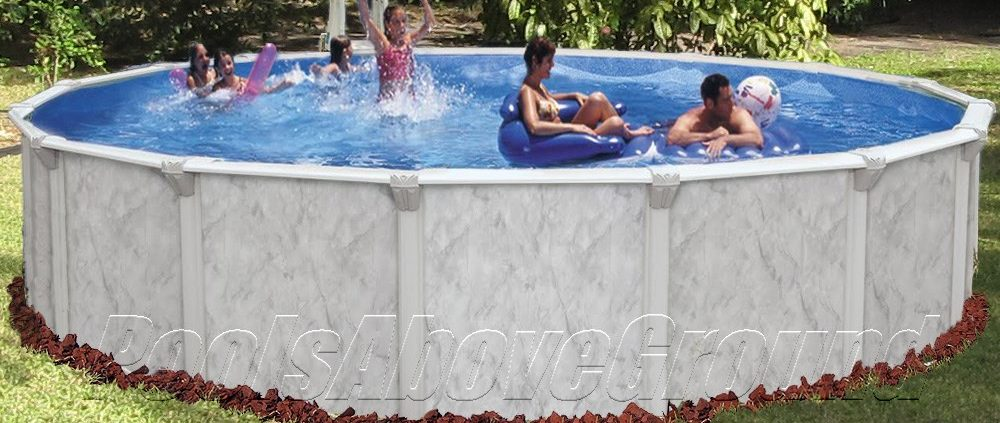 Jax FL Best Above Ground Pools | Southern Sea Full Side View